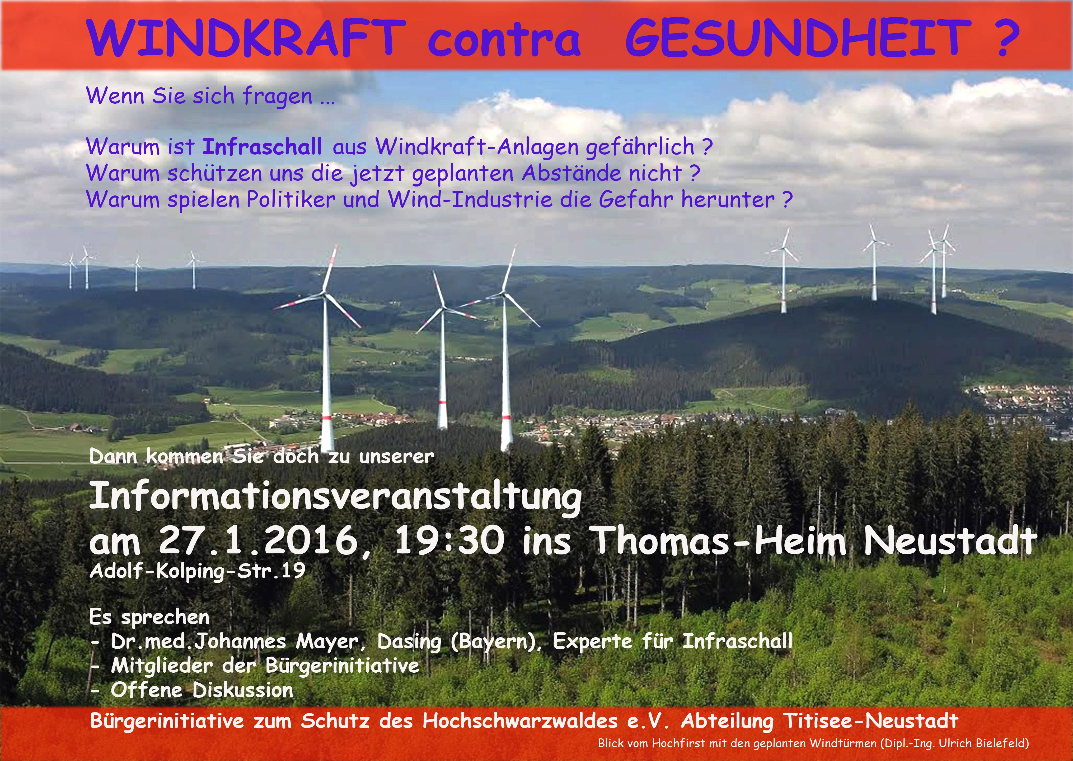 Windkraft gesundheit